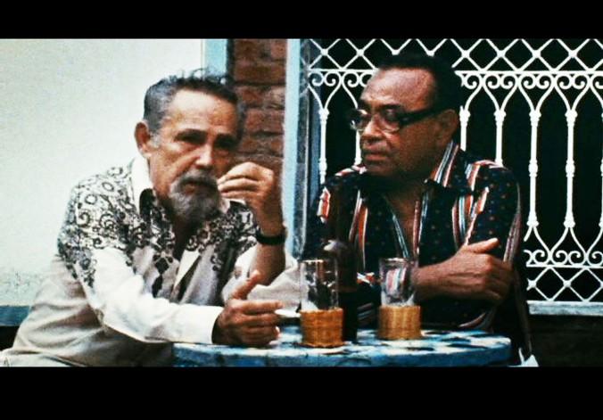 luiz  copy.jpg  ARQUIVO 7-01-2010 CADERNO2  CINEMA  Cena do documentário O HOMEM QUE ENGARRAFAVA NUVENS, de Lírio Ferreira  Crédito: CAFI/ DIVULGACAO