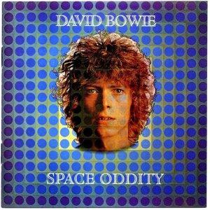 Capa do álbum Space Oddity (1969).