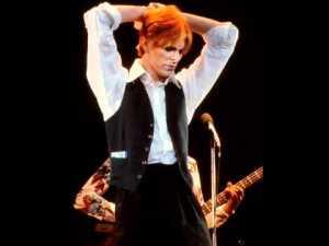 O cantor em Berlim durante a Isolar Tour, 1976.